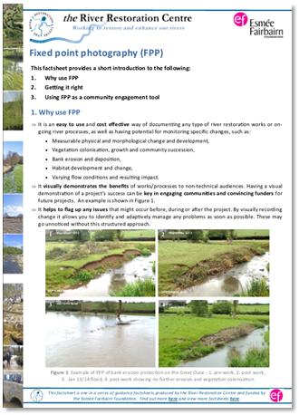 River Restoration Factsheets | The RRC